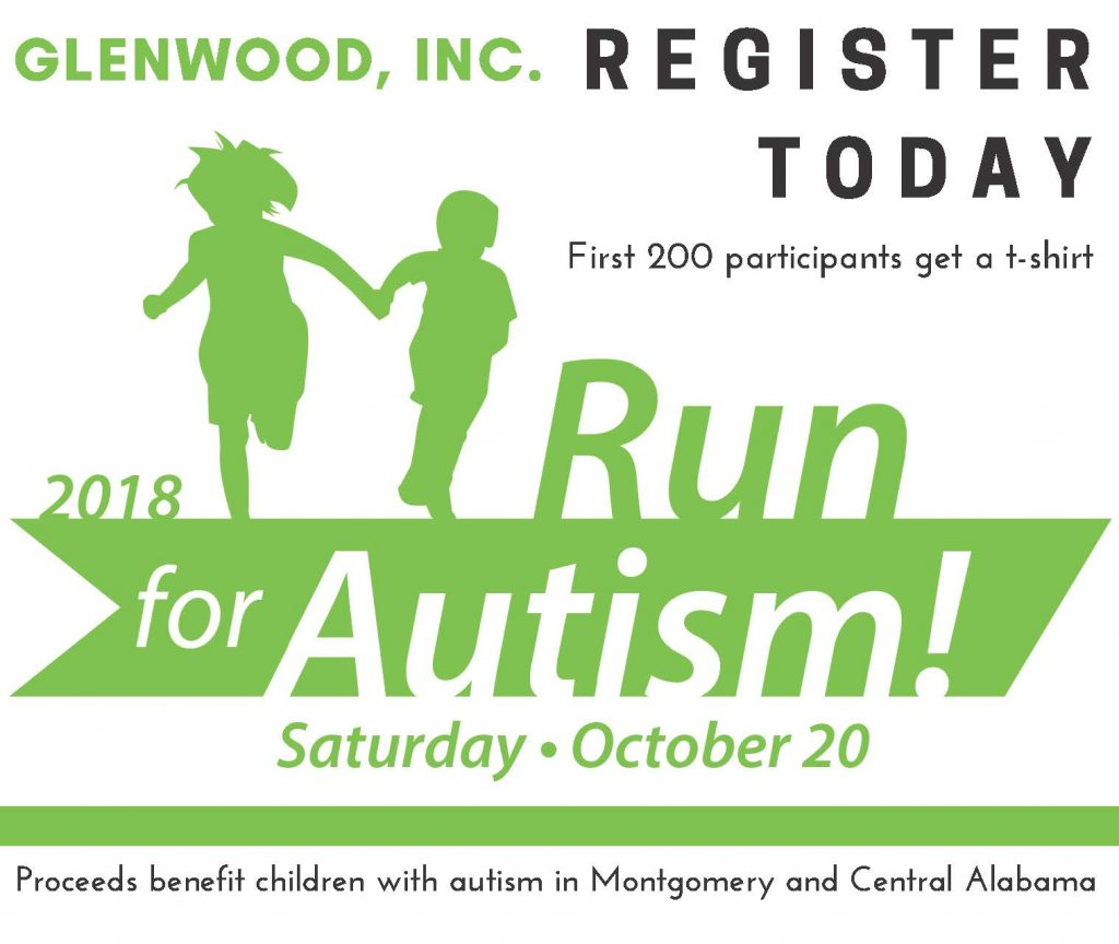 Register for October 20 Run for Autism